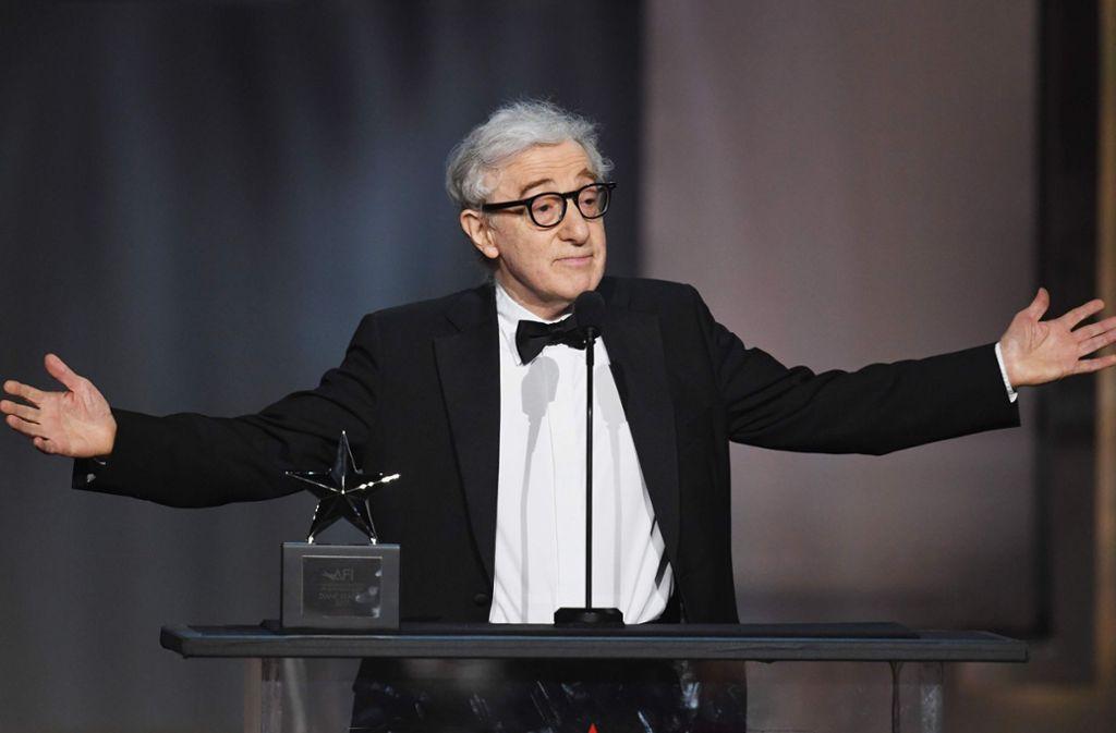 Woody Allen wird von seiner Adoptivtochter immer noch des Missbrauchs im Jahr 1992 beschuldigt. Das Ende seiner Karriere könnte in der Metoo-Epoche nun gekommen sein. Foto: AFP