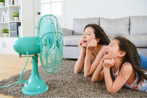 Ventilatoren sorgen für Abkühlung - aber um welchen Preis?