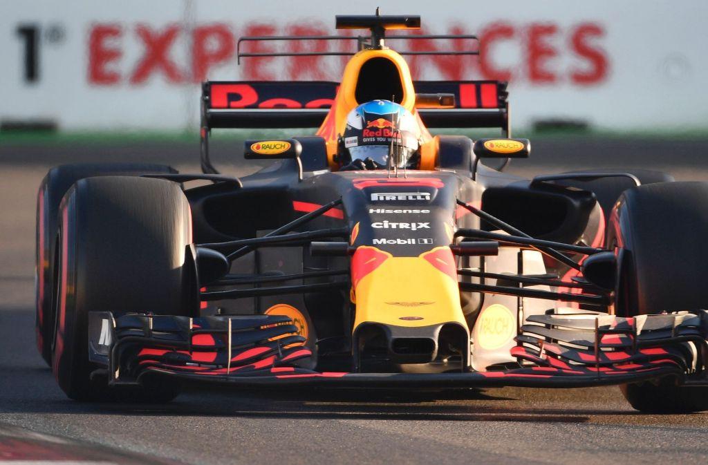 Der Sieger des Grand Prix der Formel 1 in Baku heißt Daniel Ricciardo. Foto: AFP