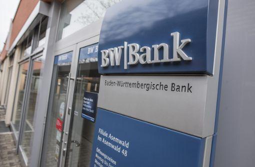 BW-Bank baut wieder Filialen auf