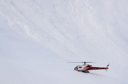 Zwei deutsche Bergsteiger bei Lawinenunglück getötet