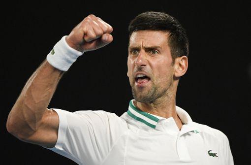 Djokovic gewinnt zum neunten Mal die Australian Open