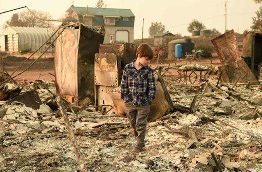 Das furchterregende Ausmaß der Feuerkatastrophe