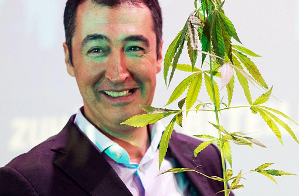 In einem Facebook-Video fordert Cem Özdemir, dass Cannabis für Bürger ab 18 Jahren frei im Handel erhältlich sein soll. Foto: dpa
