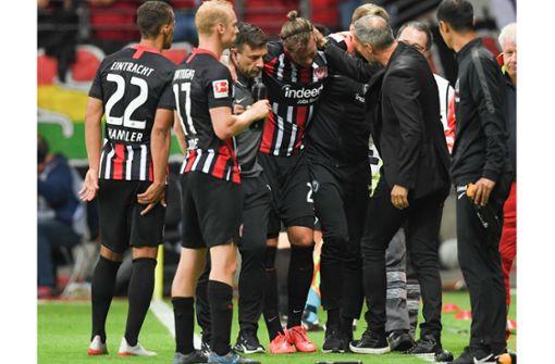 Russ' Verletzung überschattet Frankfurts Sieg