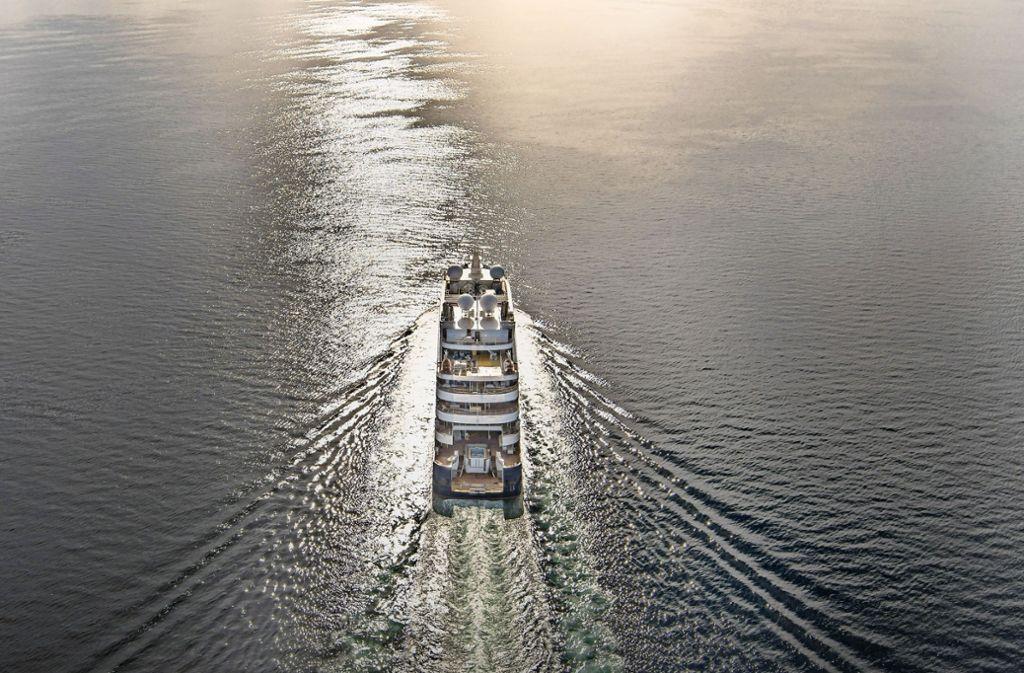 """Das Schiff """"Le Lapérouse"""" fährt entlegene Ecken  an. Foto: Ponant/Philip Plisson"""