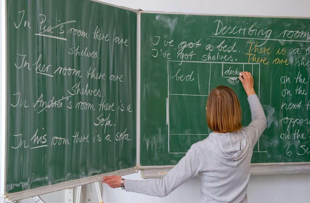 Rund 3800 Lehrer in Baden-Württemberg haben nur befristete Verträge Foto: dpa/Patrick Pleul