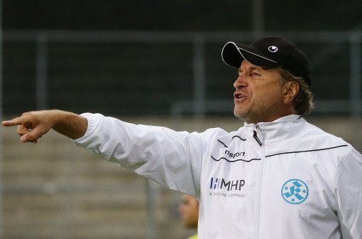 Stuttgarter Kickers spielen 1:1 gegen Worms