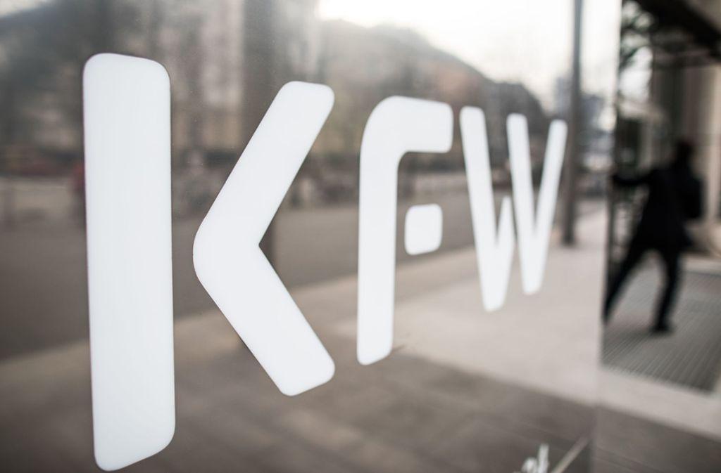 Die staatliche Förderbank KfW ist der Schlüssel für die Hilfen. Foto: picture alliance/dpa/Frank Rumpenhorst