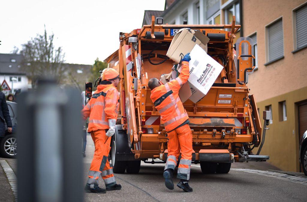 Für Müll aus Coronavirus-Haushalten gelten in Stuttgart besondere Regeln. Foto: Lichtgut/Max Kovalenko