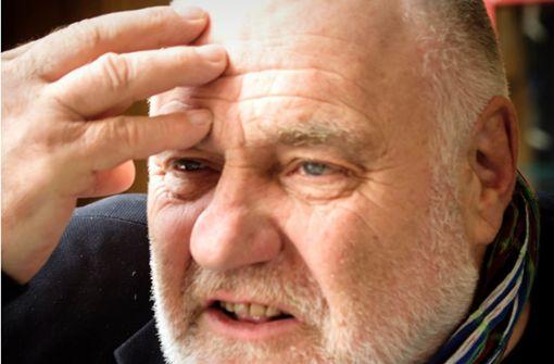 Rezzo Schlauch verteidigt  Tübinger Müllsammler pro bono