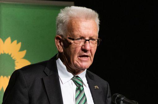 Winfried Kretschmann wirbt für mehr Klimaschutz