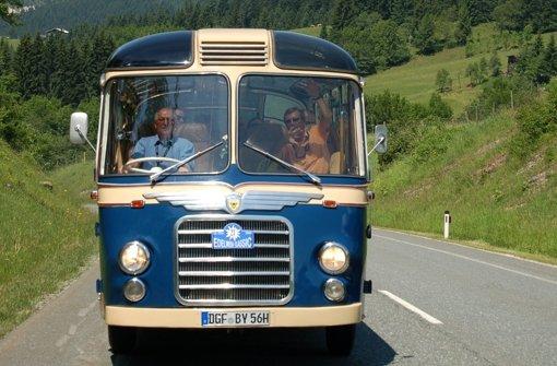 Wie ein  Busbauer unter die Räder gekommen ist