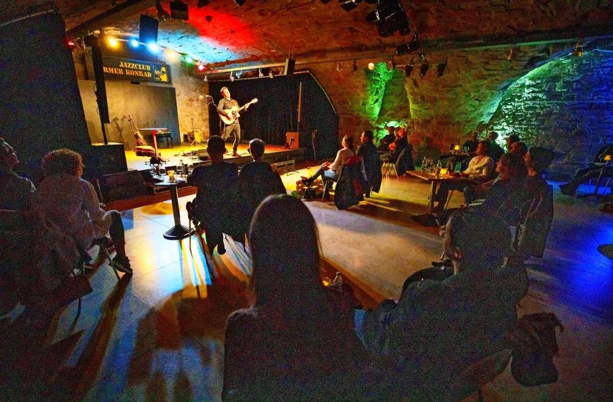 Weil der vereinseigene Keller zu klein ist, verlegt der Jazzclub Armer Konrad Konzerte in den Beutelsbacher Stiftskeller. Foto: Gottfried Stoppel