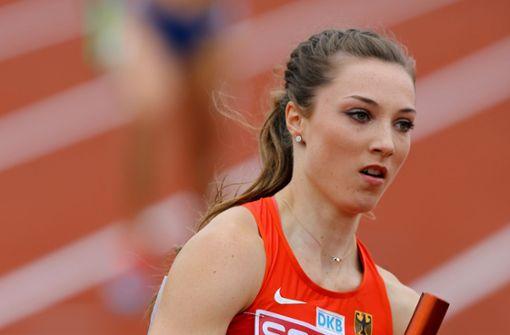 Sportlerin Laura Müller wird  für Wendler-Freundin gehalten