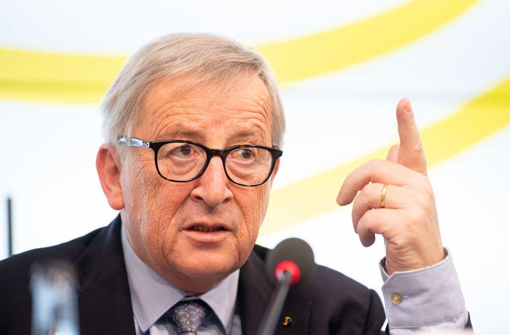 EU-Kommissionspräsident Jean-Claude Juncker blickt unzufrieden auf die vergangenen Jahre zurück. Foto: dpa