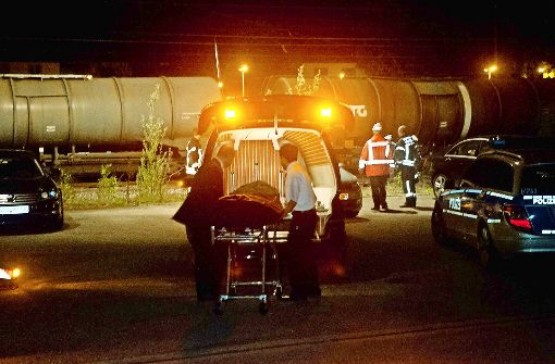 Im Mai 2013 starb eine 17-Jährige im Bahnhof von Stuttgart-Vaihingen an einem Stromschlag. Sie war mit zwei Freundinnen auf eine S-Bahn geklettert. Foto: dpa