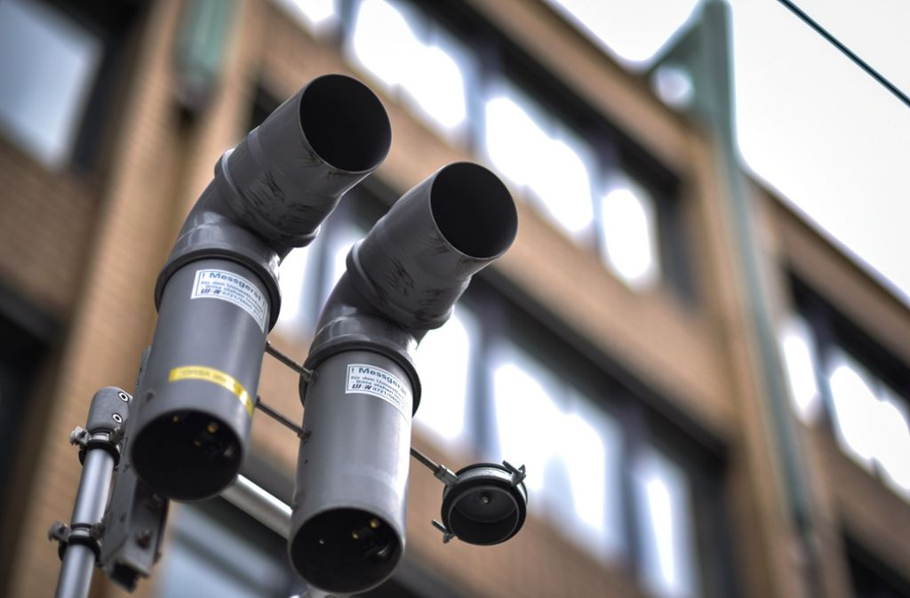 Am Neckartor sind die Grenzwerte trotz Feinstaubalarm deutlich höher als erlaubt. Foto: Lichtgut/Max Kovalenko