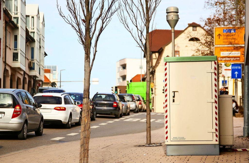 In der Grabenstraße ist seit Beginn der Messungen im Jahr 2004 nicht nur Stickstoffdioxid erfasst worden, sondern bis Ende 2015 auch Feinstaub. Foto: factum/Granville