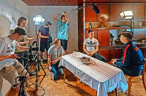 Die Filmprofis von der Schulbank
