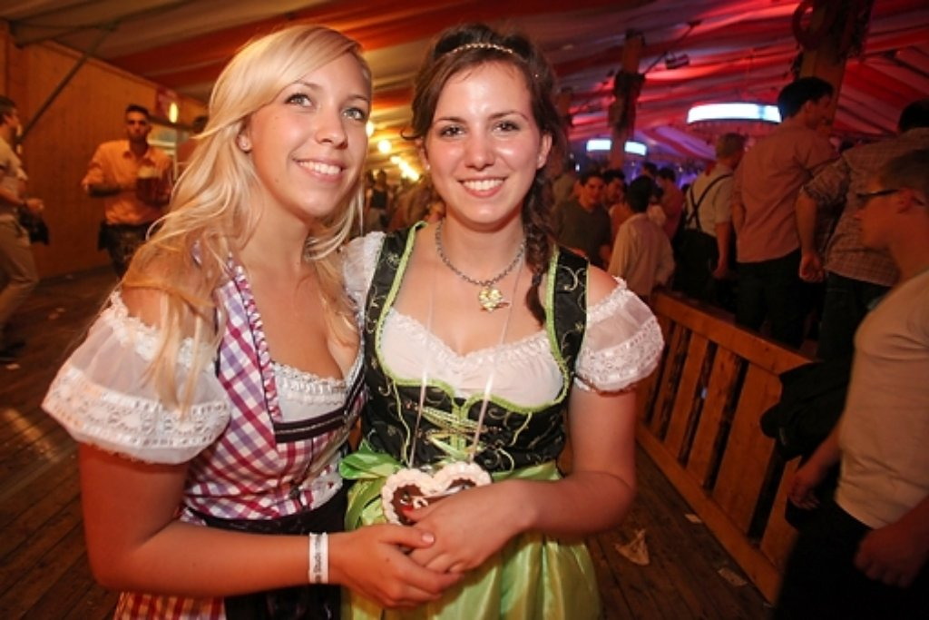 Cannstatter Volksfest: So sexy ist der Wasen 2014