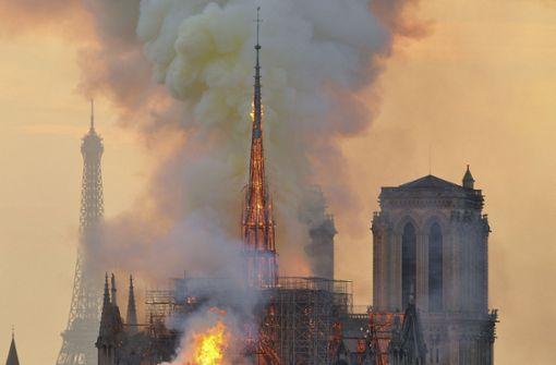 Arbeiter an Notre-Dame rauchten trotz striktem Verbot