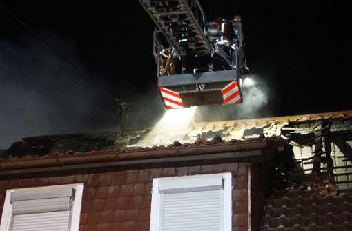 Brand in Wohnhaus – Rauchmelder weckt Familie in der Nacht
