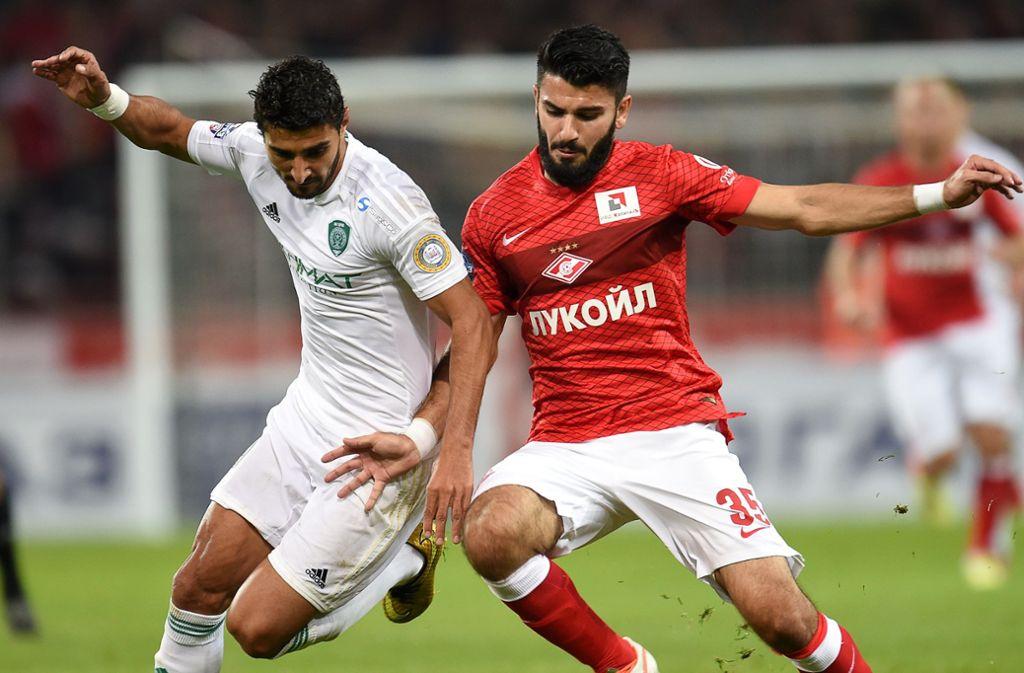 Der ehemalige VfB-Profi Serdar Tasci (r.) verlässt Spartak Moskau und sucht eine neue Herausforderung. Foto: Getty