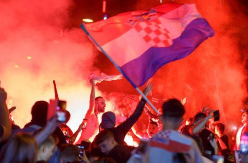 Einige Festnahmen bei Kroaten-Party in Stuttgart