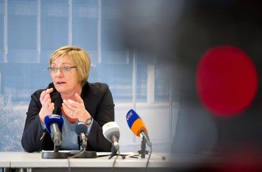 """Grünen-Fraktionschefin Edith Sitzmann zur Verschärfung des Sexualstrafrechts: """"Es muss ganz klar sein, dass das Nein einer Frau auch ein Nein ist."""" Foto: dpa"""