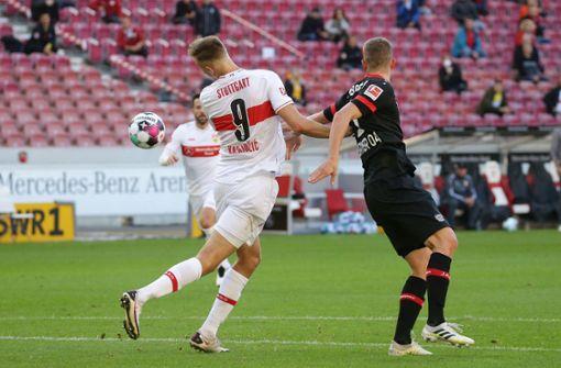 Gegen Leverkusen kommen Sasa Kalajdzic und Co. stark zurück