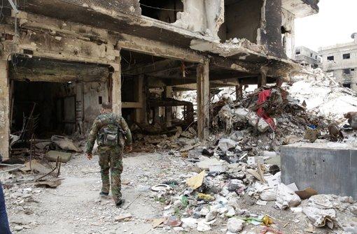 Die Lage der Menschen im palästinensischen Flüchtlingslager Jarmuk in Syrien wird immer dramatischer. Foto: EPA