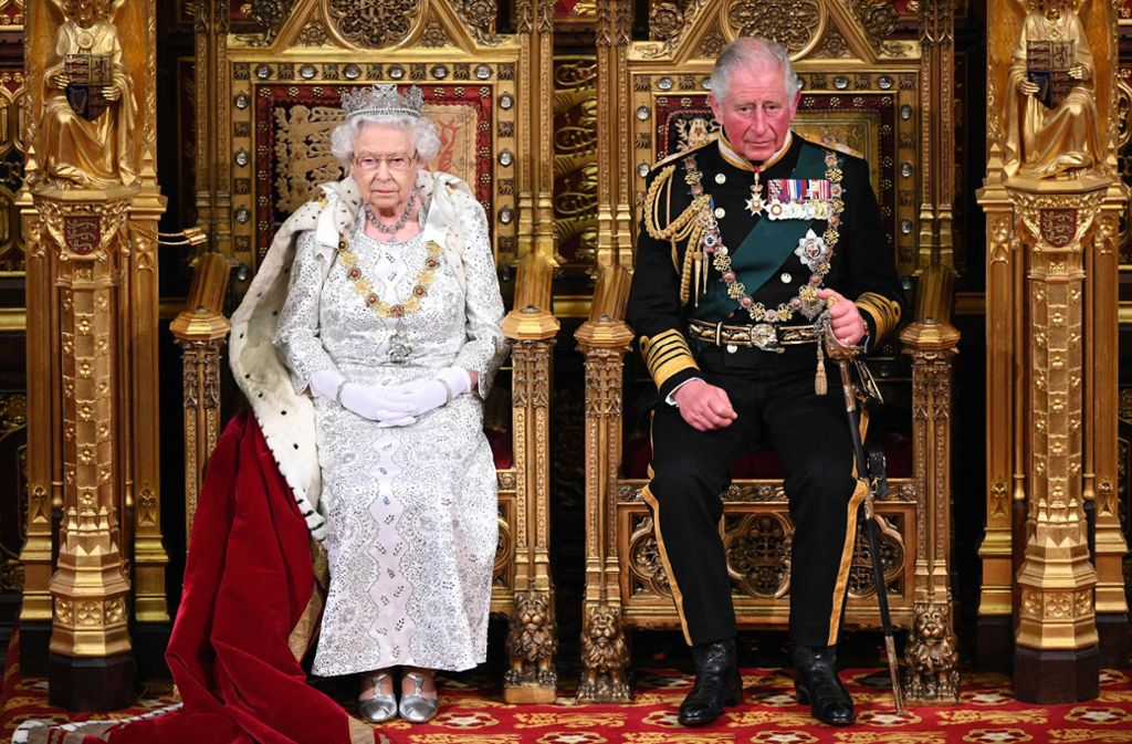 Die Queen hat das Parlament am Montag wieder eröffnet. Foto: AFP/PAUL EDWARDS