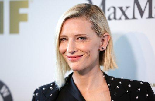 Cate Blanchett kämpft für Frauenpower in Hollywood