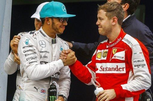Hamilton holt Pole - Vettel Zweiter