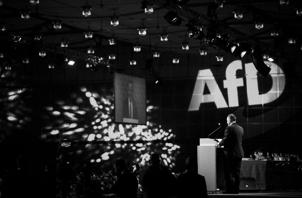 Bei der AfD hat der Bundesparteitag in Hannover viele Fragen aufgeworfen. Foto: Getty Images Europe