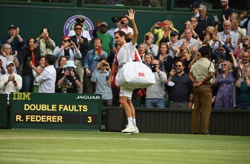 Roger Federer läuft die Zeit davon