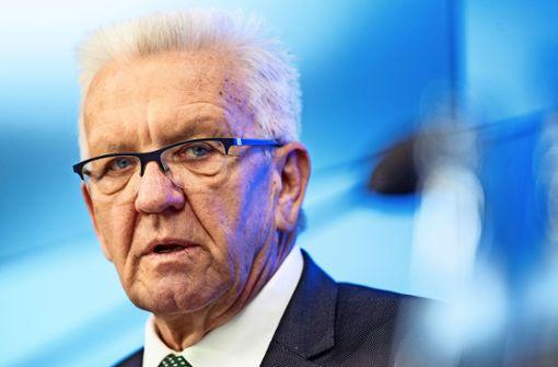 Winfried Kretschmann:  Tage der Entscheidung