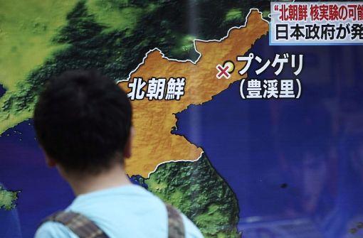 Südkorea geht von Atomtest in Nordkorea aus