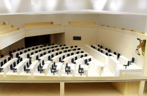 Der Siegerentwurf geht sensibel mit dem Baudenkmal Landtag um. Foto: dpa
