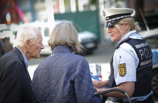 Echte Polizisten warnen vor falschen