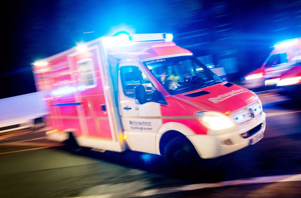 Die neun Verletzten wurden in umliegende Krankenhäuser eingeliefert. Foto: dpa