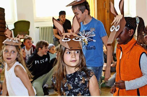 Große Bühne für kleine Schauspieler