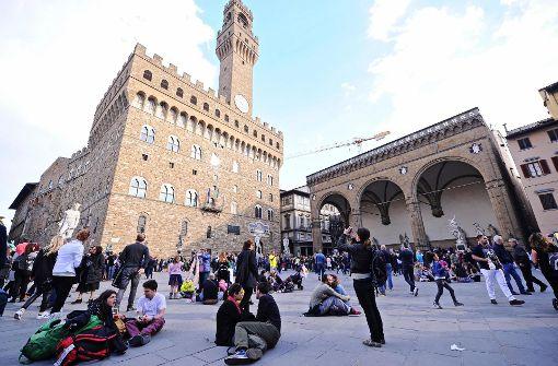 Florenz will Treppen und Plätze mit Wasser bespritzen