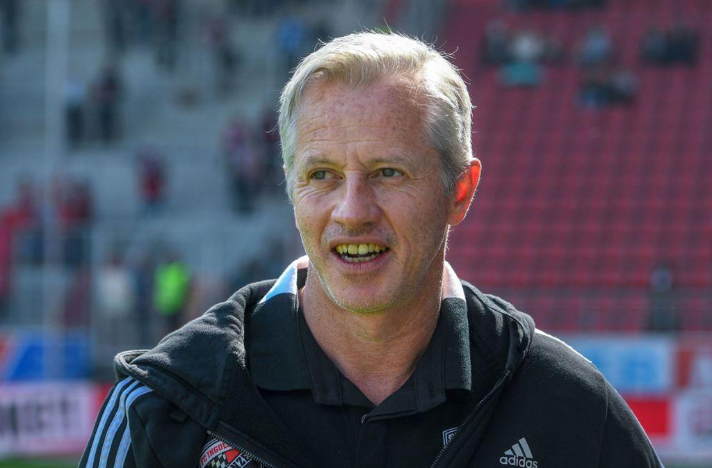 Jens Keller war 2010 Trainer des VfB Stuttgart. Foto: dpa/Armin Weigel
