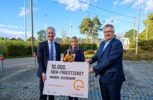 Zehner-Tages-Ticket ist der Renner bei  Kunden in Stuttgart und Region