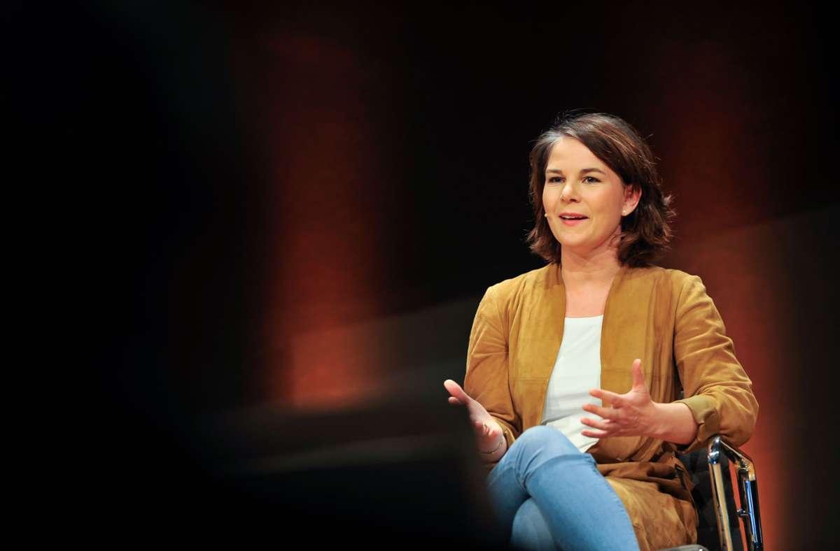 Annalena Baerbock führt die Grünen im Bundestagswahlkampf an. Foto: Lichtgut/Max Kovalenko