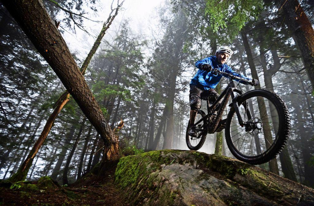 Am Hohenstaufen soll eine Mountainbike-Strecke entstehen. Foto: Mauritius