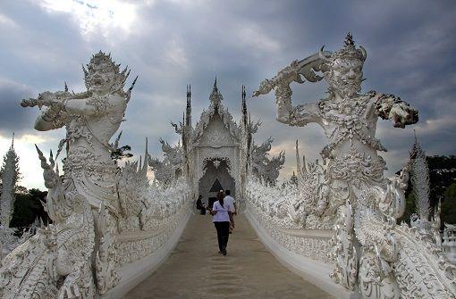 Tempelglanz und Elefantenkuss