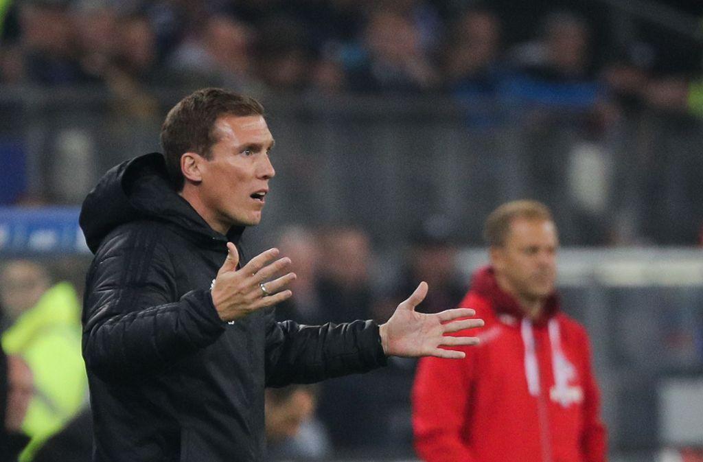 Hannes Wolf hatte kein Glück mit dem HSV Foto: picture alliance/dpa